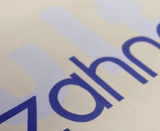 Les caractères typographiques inachevés des maîtres du Bauhaus..